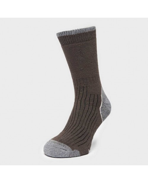 Brasher Mens Hiker Socks brown