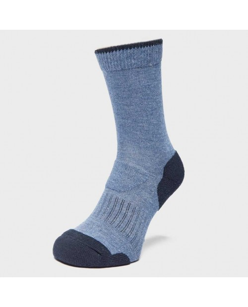 Brasher Womens Light Hiker Socks blue