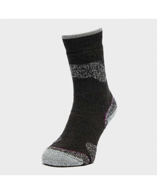 Brasher Womens Trekker Plus Socks black