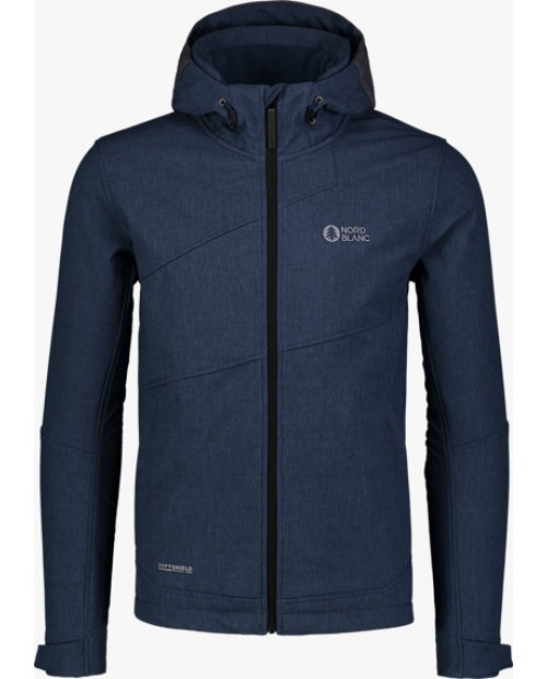 Mens softshell jacket with fleece aid