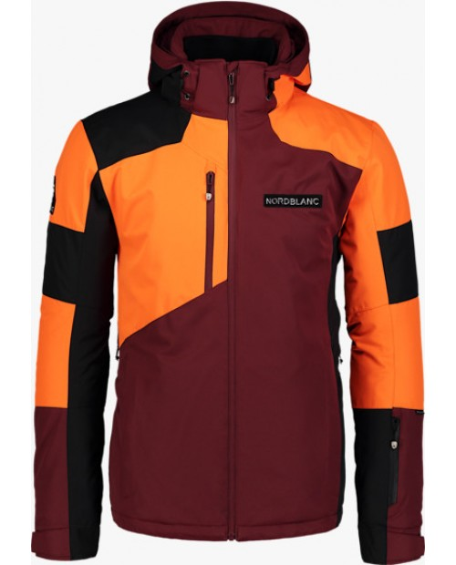 Mens ski jacket copper