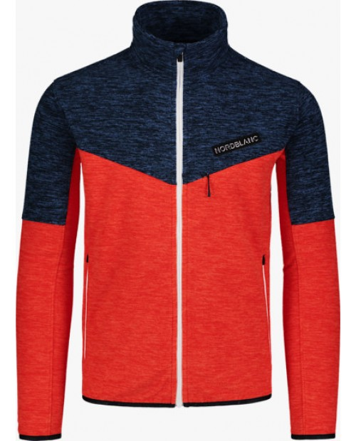 Mens fleece jacket upturn