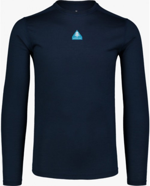 Mens baselayer merino long sleeve solace