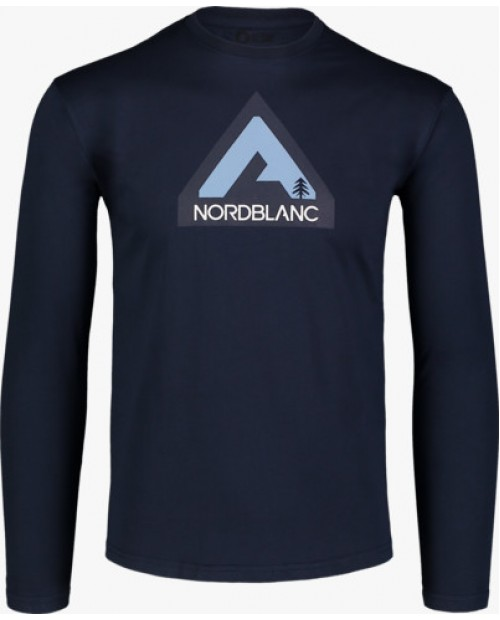 Mens cotton longsleeve uphill