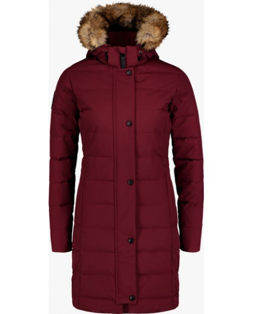 Womens down parka chilly