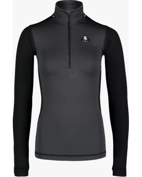 Womens winter baselayer top veil