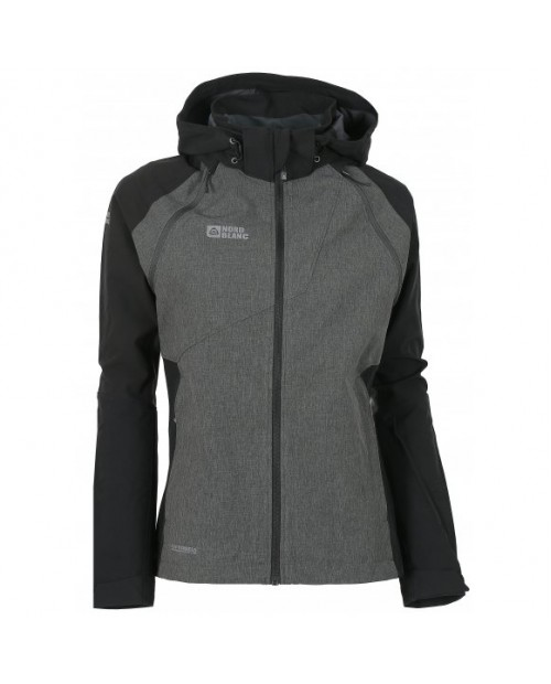 Ladies 2-in-1 membrane light softshell 3LL jacket 4x4 stretch