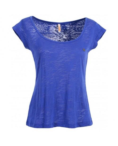 Ladies blasted cotton t-shirt