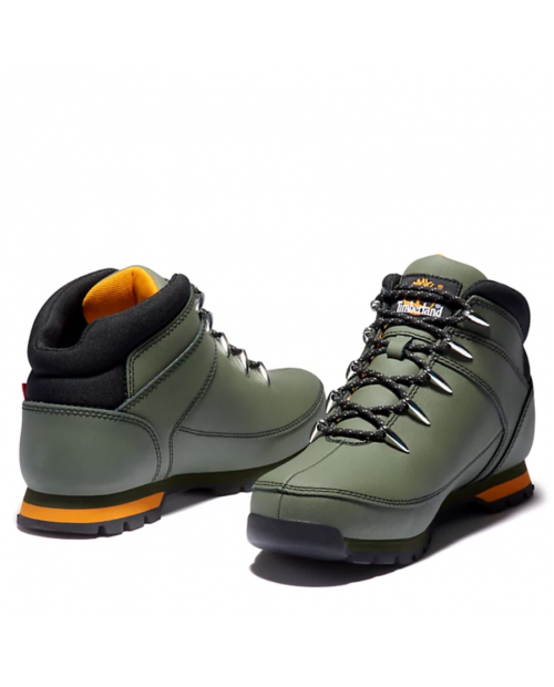 TIMBERLAND Euro Sprint Mid Hiker for Men in Black Helcor Мъжки обувки зелени
