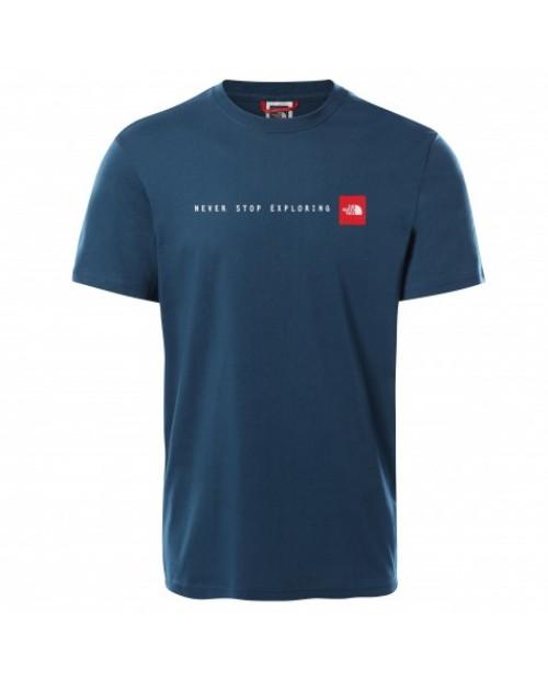 Мъжка тениска M S/S NSE TEE MONTEREY BLUE