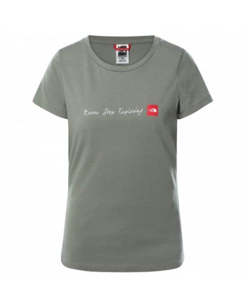 Дамска тениска W S/S NSE TEE AGAVE GREEN