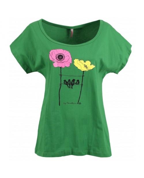 Ladies loose fit cotton t-shirt