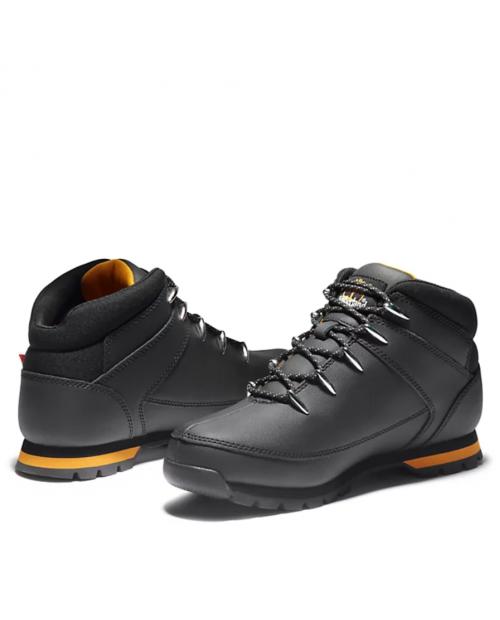 TIMBERLAND Euro Sprint Mid Hiker for Men in Black Helcor Мъжки обувки черни